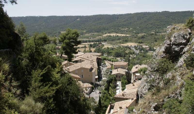 Moustiers-Sainte-Marie-provence-dorp