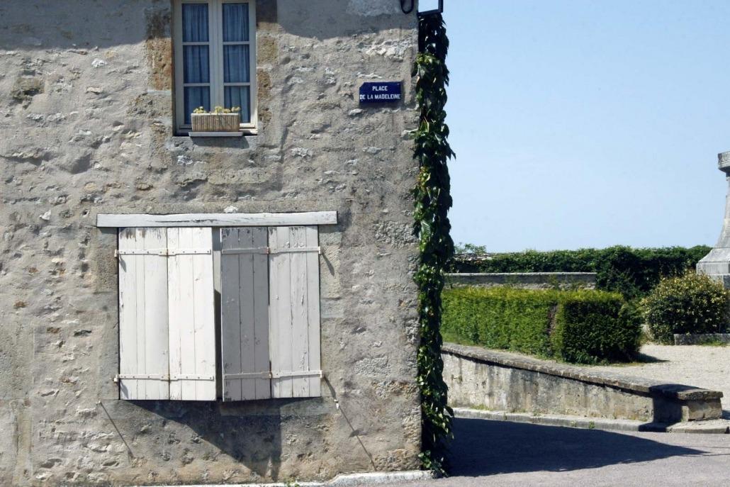 Huis in Vezelay in Bourgondië, Frankrijk