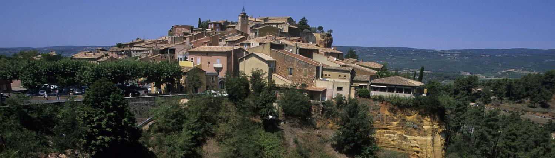Roussillon Okermijn Luberon Provence Frankrijk credits Atout France/Jean Malburet