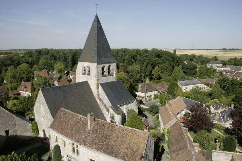 Y-C3-A8vre-le-Ch-C3-A2tel-loiret-centre-kasteel-kerk