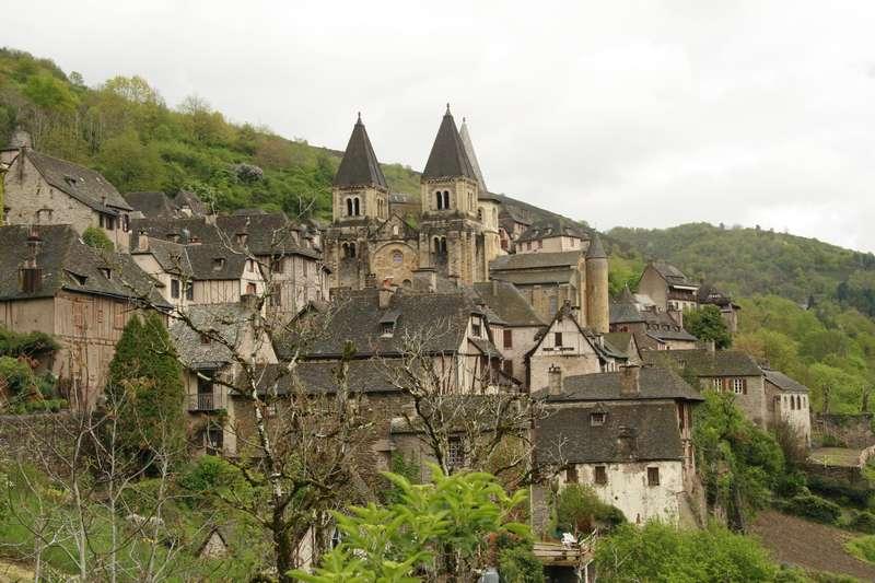 conques-Aveyron-abdijkerk