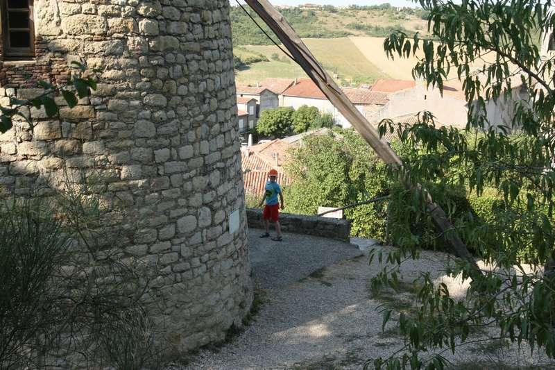 Molen in Lautrec in Frankrijk