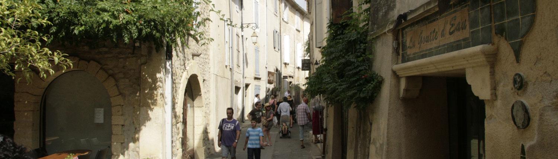 Lourmarin Provence Frankrijk Luberon straatje