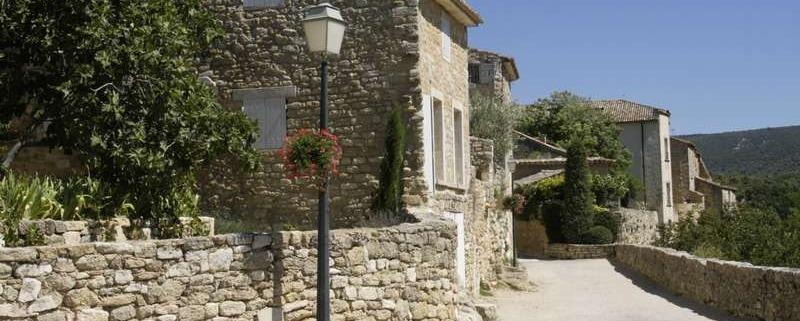 Huis in het dorp Menerbes in de Provence Frankrijk