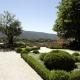 Tuin in het dorpje Menerbes in de Provence