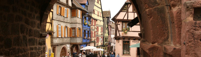 Riquewihr Elzas Frankrijk poort Dolder