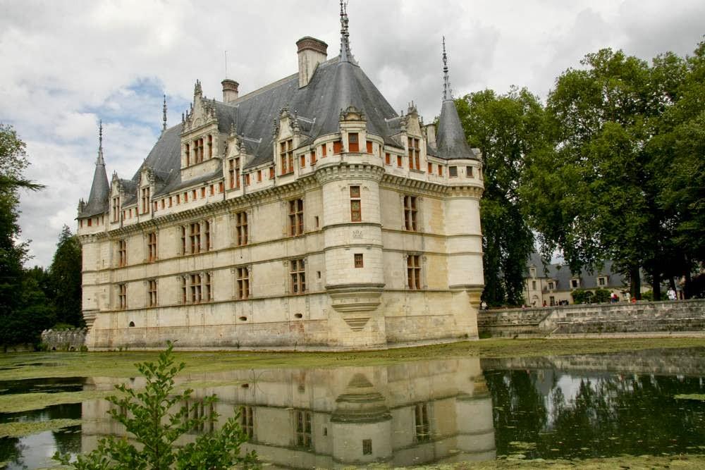 Kasteel Azay-le-Rideau in Frankrijk