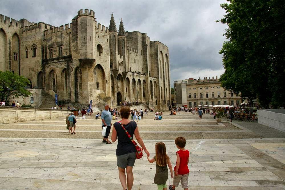 Palais du Pape in Avignon