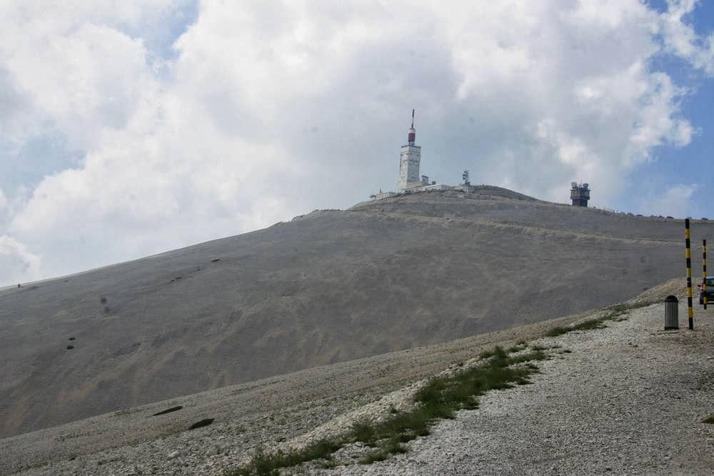 Top van de Mont Ventoux in Frankrijk