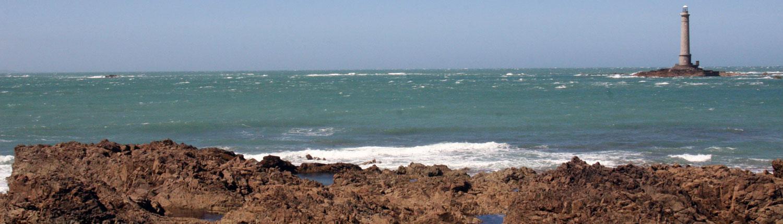 Vuurtoren Contentin Cap de Hague Kanaal Normandië
