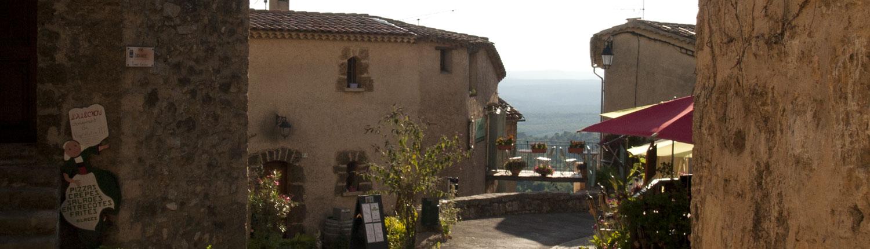 Tourtour dorp Provence Frankrijk Var