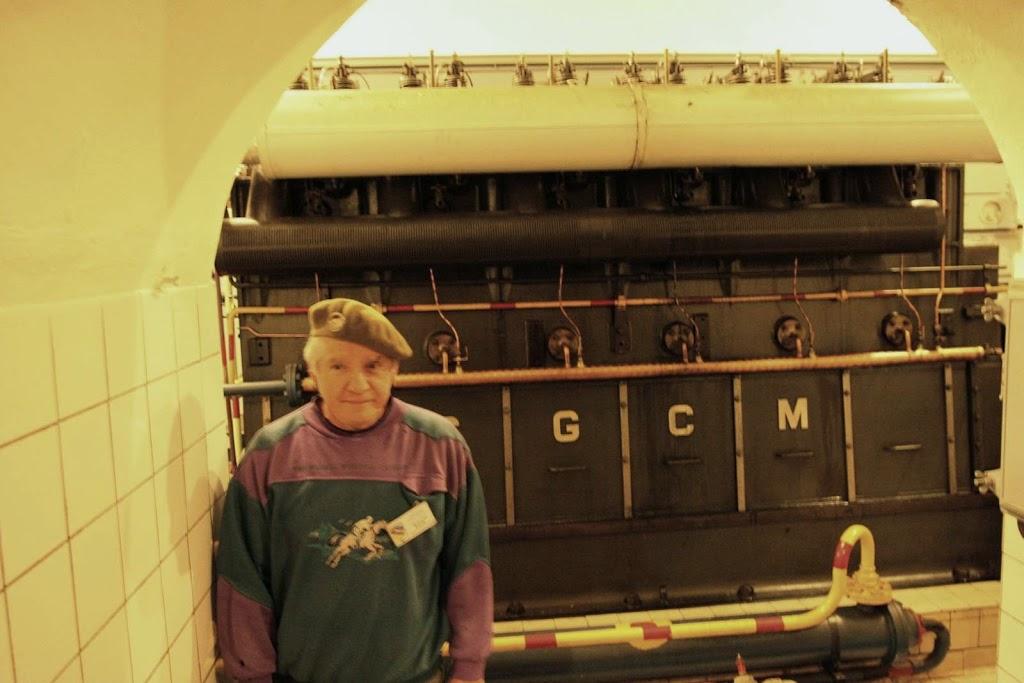Eén van de generatoren in Ouvrage Hackenberg