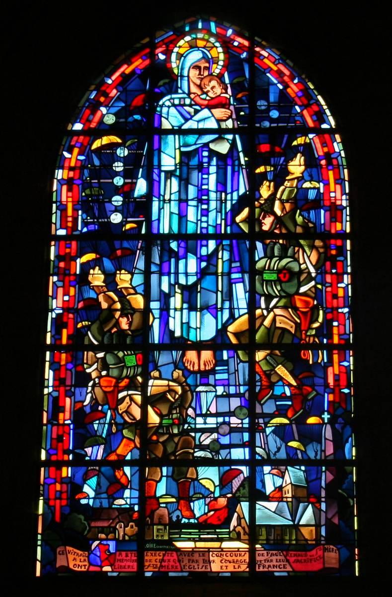 Sainte Mere Eglise  het beroemdste Franse dorp in Amerika