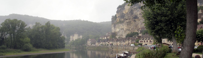 Roque Gageac Dordogne Frankrijk kasteel
