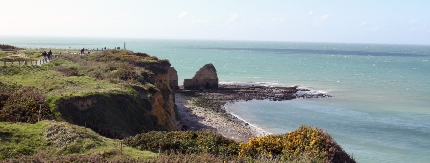 Pointe du Hoc in Normadië