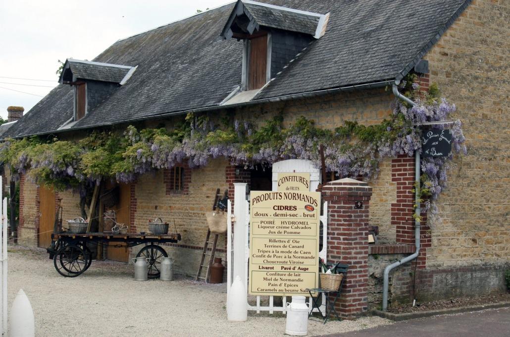 Beuvron-en-Auge-Calvados-winkel