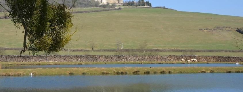 Canal de Bourgogne met Chateauneuf en Auxois en Auxois