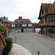 Vakwerkhuis in het dorpje Beuvron-en-Auge in de Calvados, Frankrijk