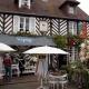 Winkel in Beuvron-en-Auge in Normandië, Frankrijk