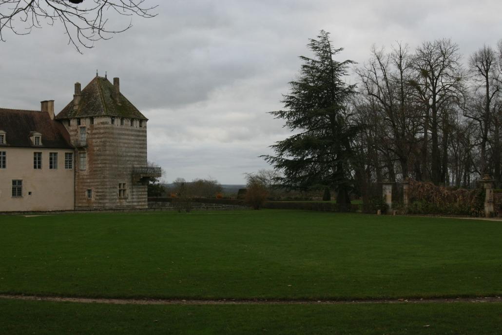 Kasteel van Espoisses in Frankrijk, Bourgondië