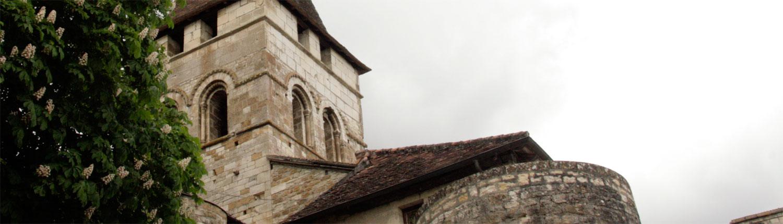 Kerk Carennac Dordogne Frankrijk