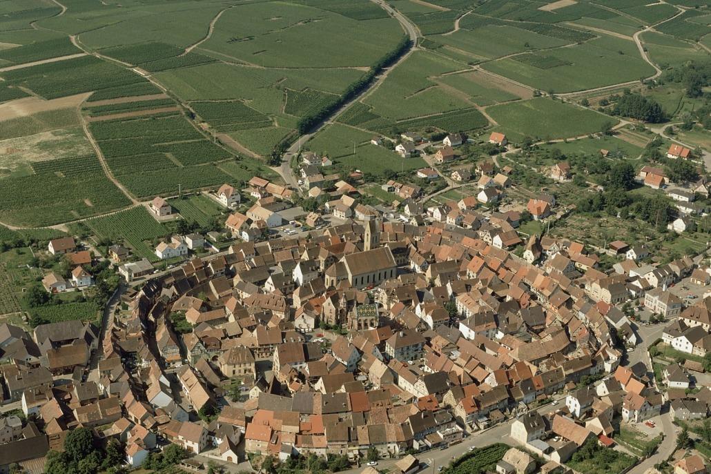 Het dorpje Eguisheim in de Elzas in Frankrijk, foto: Atout-France-Daniel-Philippe