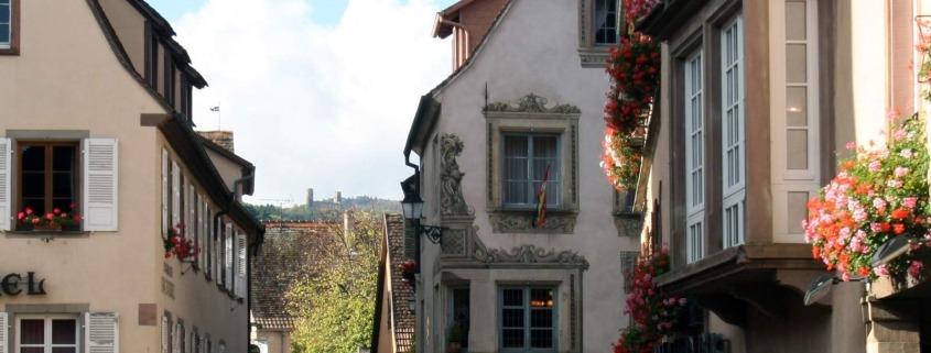 Mittelbergsheim is een dorp in de Elzas in Frankrijk
