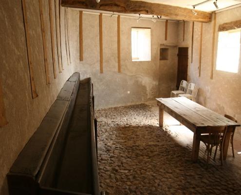 Kamer in het oude belastingkantoor van Semur en Brionnais waar de gehate gebelle moest worden betaald