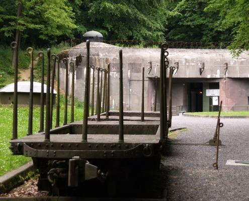 Ingang van het Fort Schoenenbourg Hunspach Elzas cc janebelindasmith