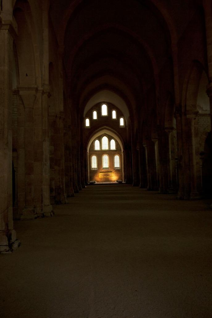Abdij kerk van Fontenay, Bourgondië