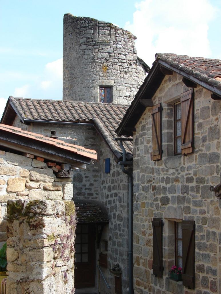 Cardaillac-Dorp-Frankrijk-Lot-toren-tour-de-Sagnes