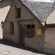 Huisje met postbus in het dorp La-Grave-La-Meije in Frankrijk