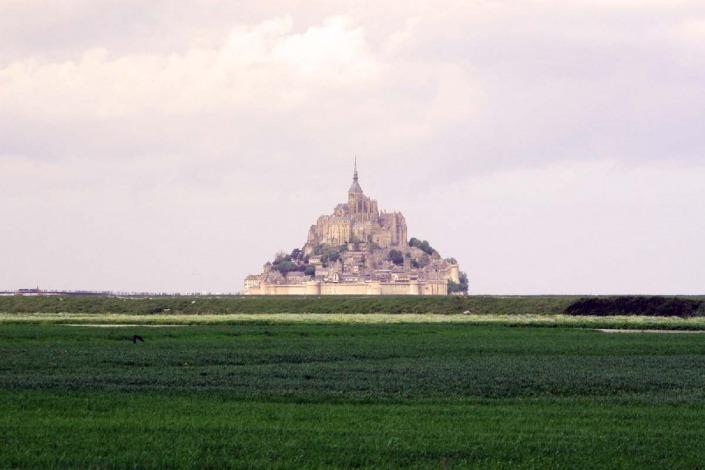 Mont Michel Normandië Bretagne Klooster eiland Frankrijk wad