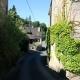 Straatje in het mooie dorpje Gargilesse-Dampierre in de Limousin Frankrijk