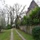 Fraai uitzicht op het landschap vanaf het dorp Saint Robert