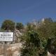 De ruïne van het kasteel van Sainte-Agnès in het zuiden van Frankrijk