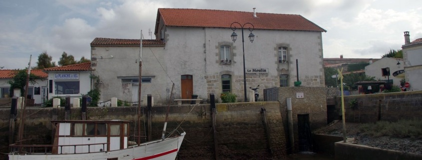 Haven van Mornac sur Seudre een dorp aan de westkust van Frankrijk