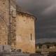 Kapel in het dorp Limeuil langs de Dordogne