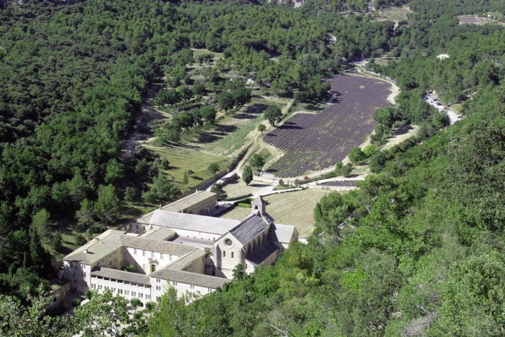 Abbaye de Sénanque in de Vaucluse bij Gordes