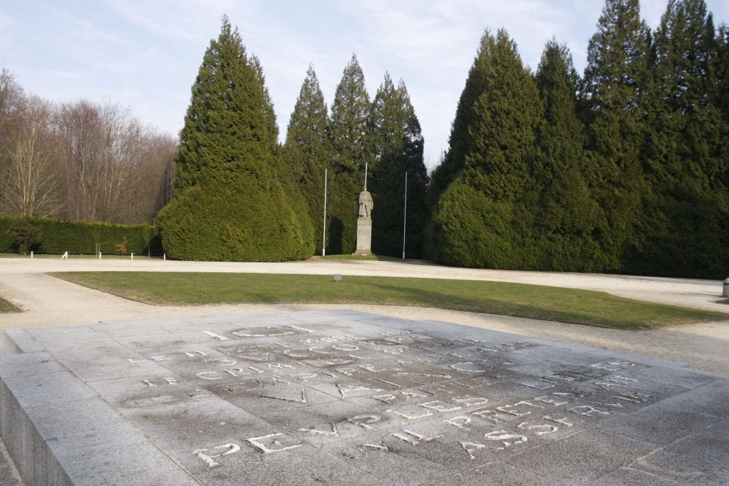 Compiègne Clairière de l'Armistice monument eerste wereldoorlog wapenstilstand plakette