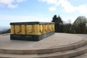 Hartmannswillerkopf elzas monument eerste wereldoorlog