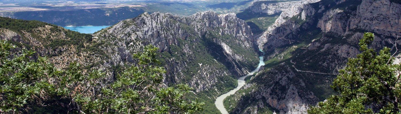 De gordes du Verdon in het zuiden van Frankrijk