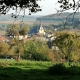 Het dorp Marville in Lotharingen in Frankrijk