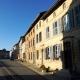 Renaissance huizen in de Grande Rue in Marville Lotharingen Frankrijk