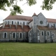 De kloosterkerk in Pontigny is gebouwd in de twaalfde eeuw
