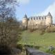 Het kasteel van Rochechouart in de Limousin