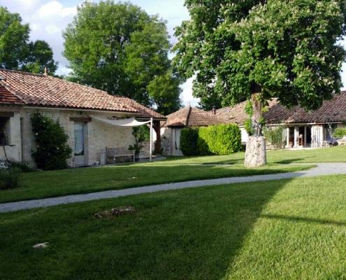 Chambre d'hôtes Le Bourdiel in de Lot-et-Garonne in het zuidwesten van Frankrijk