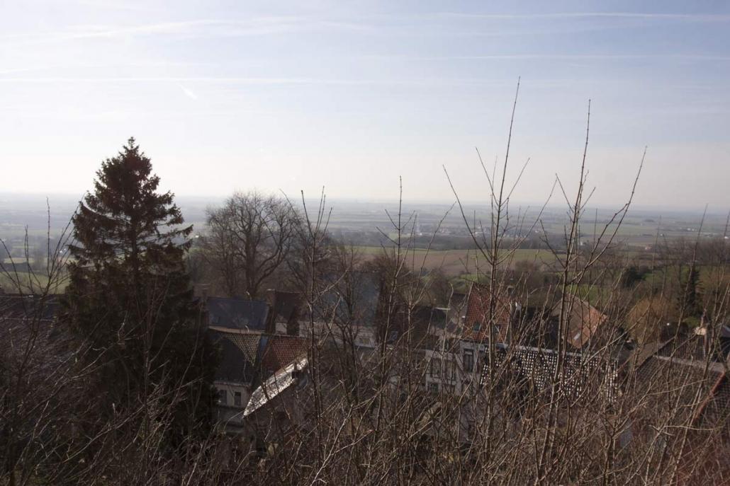 Uitzicht vanaf de Kasselberg in Cassel