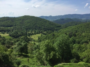 Uitzicht Gite Bruen