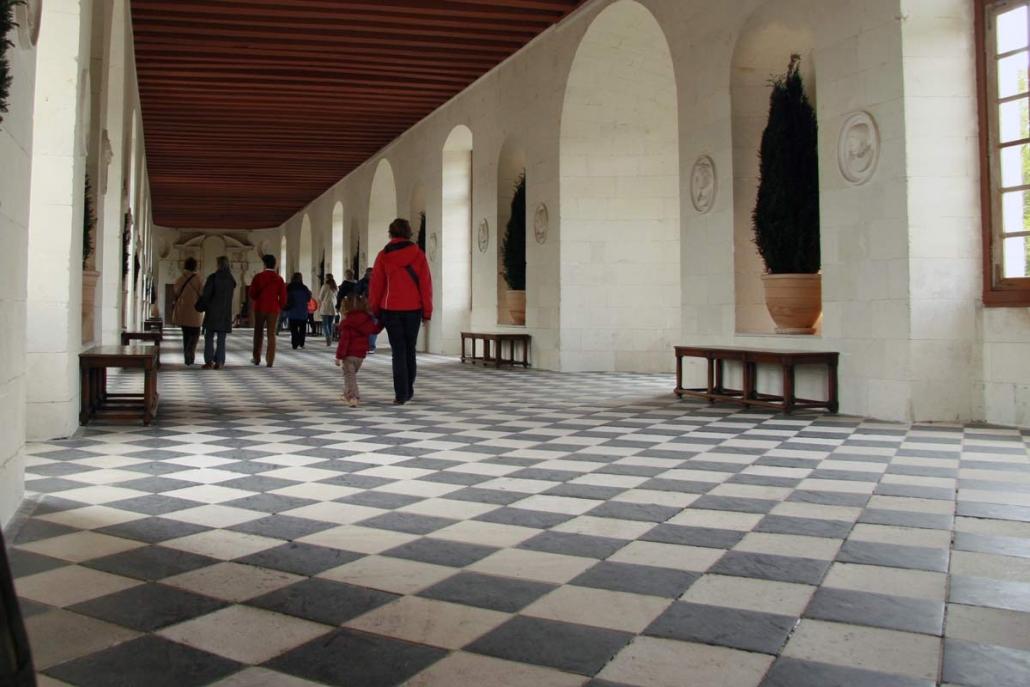 De galerij van het kasteel van Chenonceau